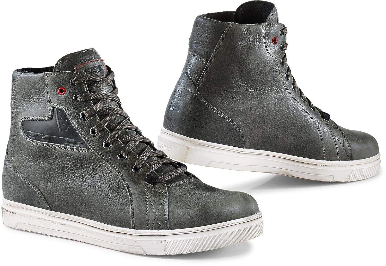 Grey//EU 41 US 8 TCX Ace Waterproof Adult Street Motorcycle Shoes