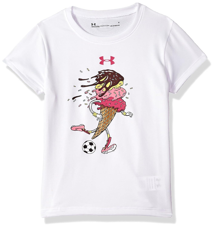 Under Armour Girls Soccer Cone Short Sleeve T-Shirt