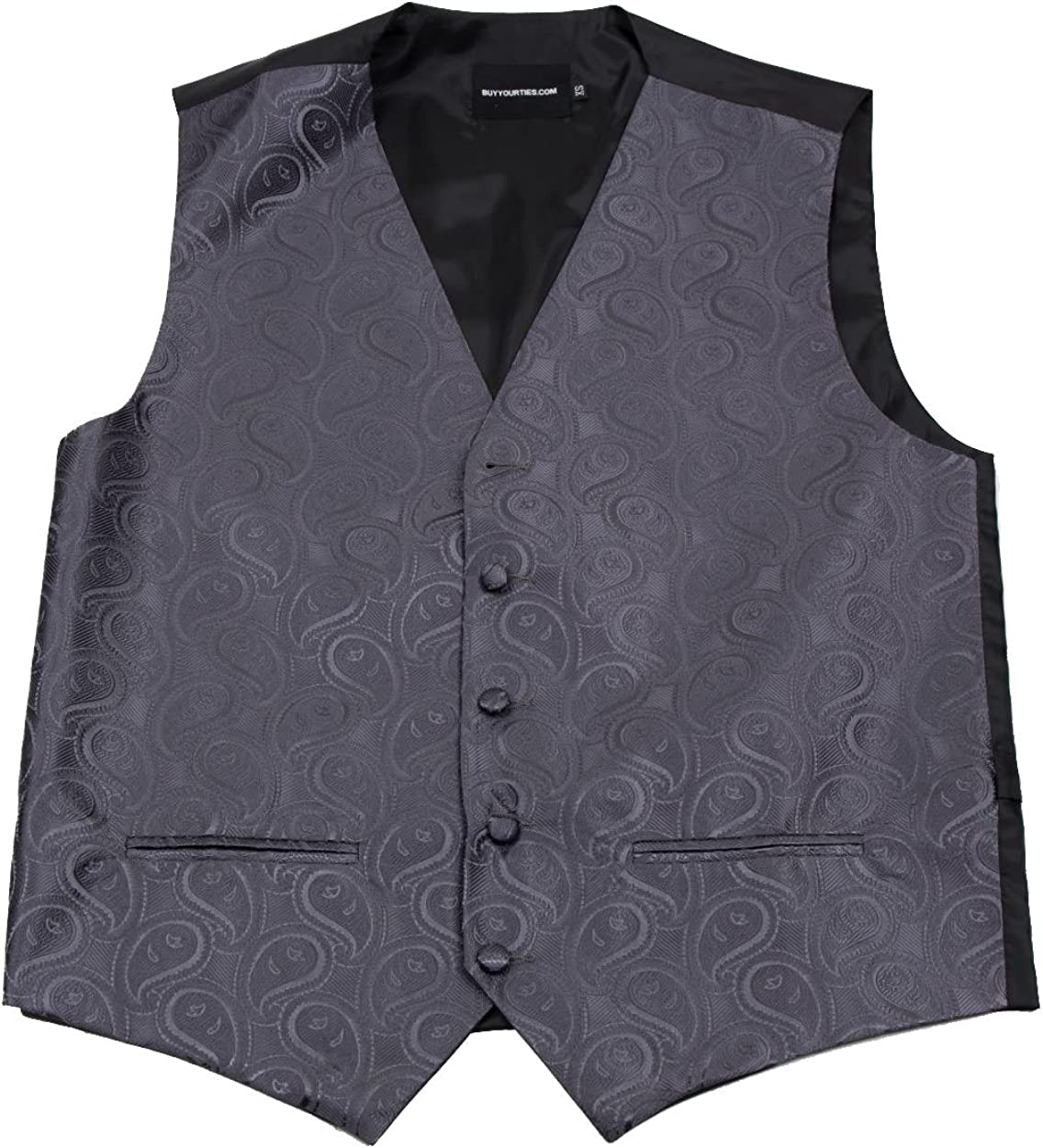 Buy Your Ties Mens Paisley Formal Vest for Tuxedo and Suit