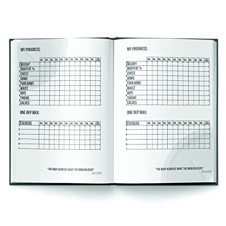 Workout Log Gym (Hardback) – A5 Sized Training and Gym Diary - Track 100  Workouts and Your Progress in Full Detail