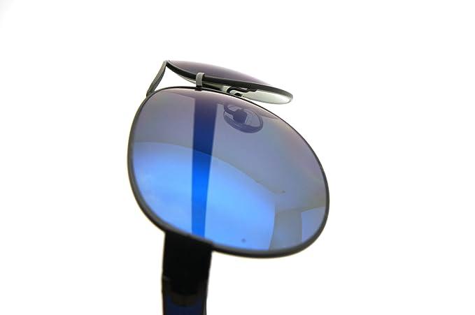 Amazon.com: Tag Heuer anteojos de sol 0256 A08 Negro Mate ...