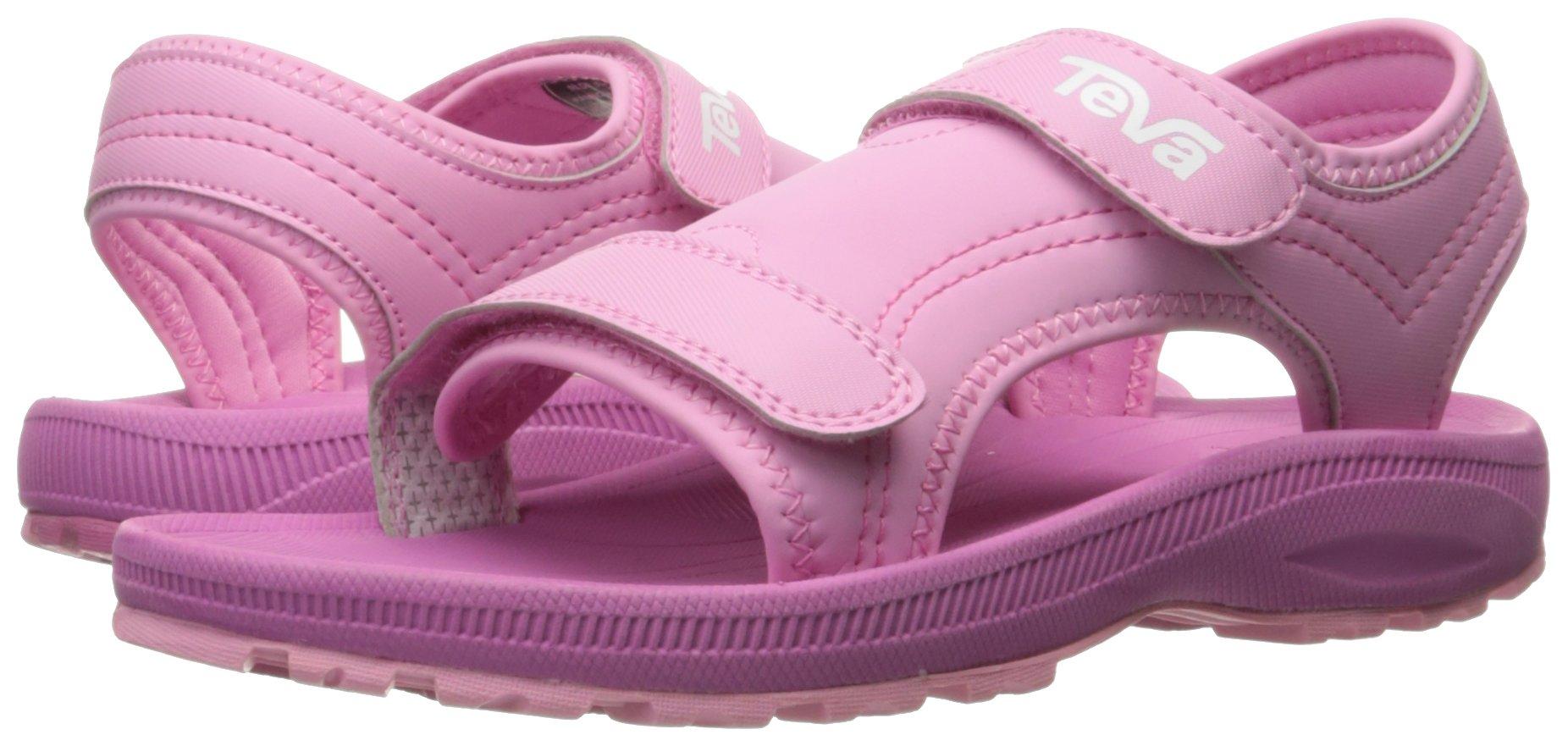 Teva Girls' Psyclone 4 Sandal, Pink, 1 M US Little Kid by Teva (Image #6)