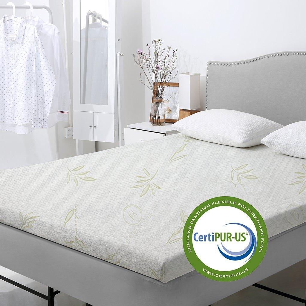 Hotel Comfort Dual Air Foam Gel Enhanced Cooling Mattress Topper (Twnxl)