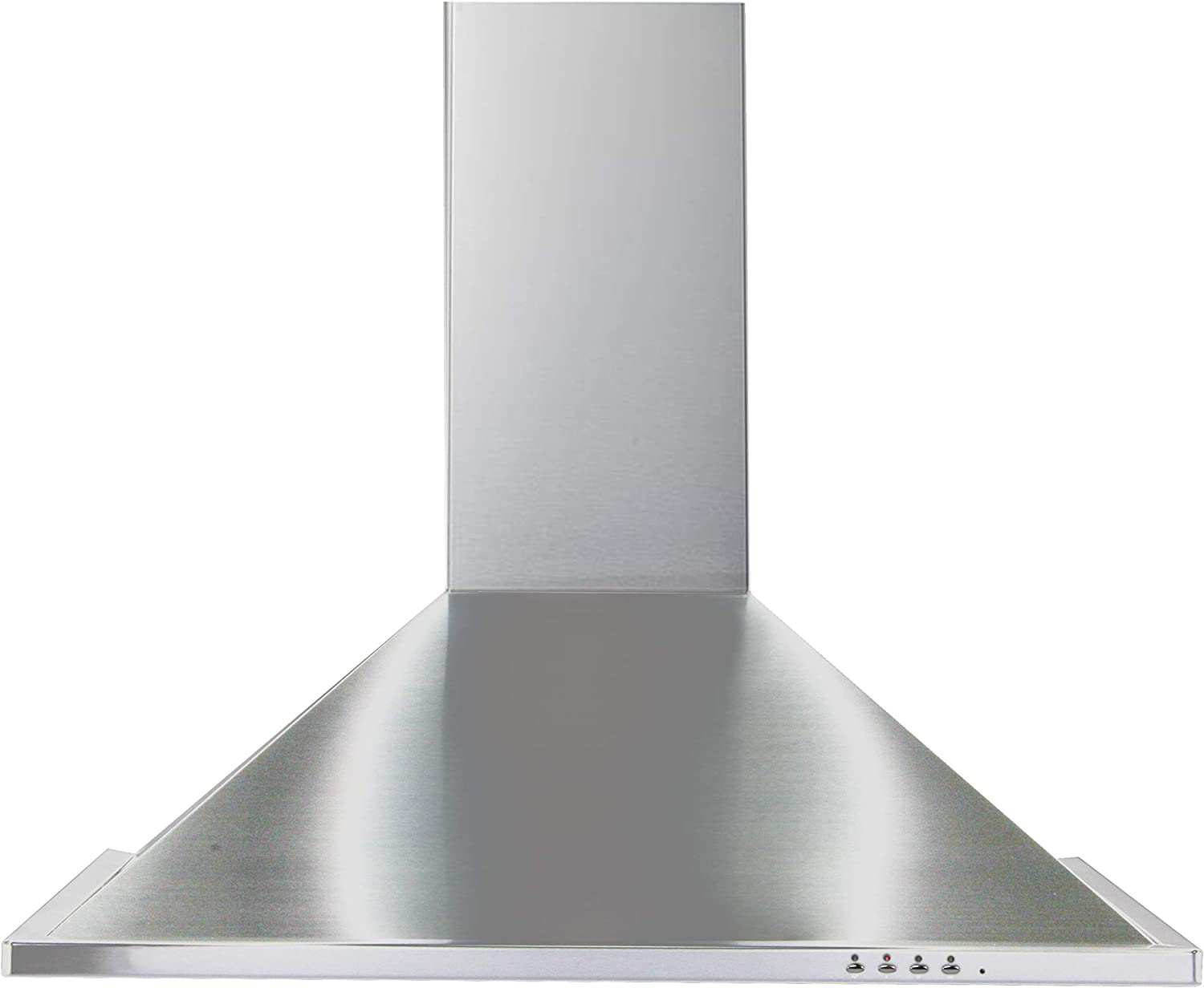 "Equator 30"" Made in Europe Wall Mount Range hood, Stainless, LED lights, 3 Speed, 600 CFM Timer with Auto Speed Reduction"