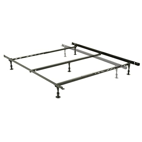 harvard adjustable nh50gc4 heavy duty bed frame with keyhole cross arms and 5 2