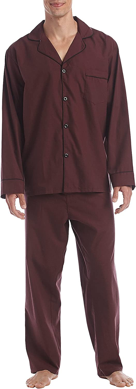 Hanes Size Tall Men's Broadcloth Pajama Set