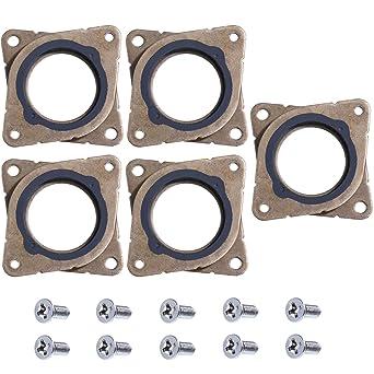 5 Piezas de Amortiguador de Vibraciones de Goma y Acero de Motor ...