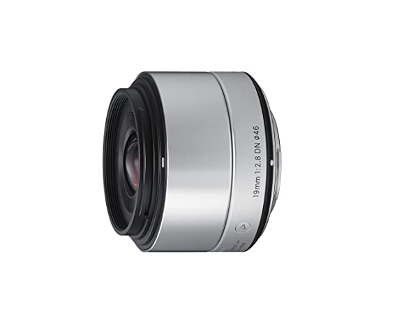 Sigma 19mm F2.8 EX DN Art  Silver  for Micro 4/3 Cameras   Photography