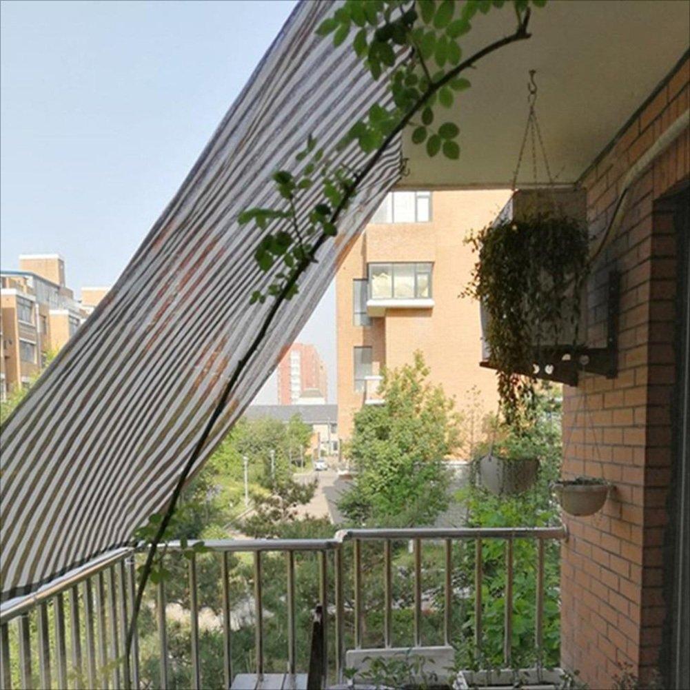 LIXIONG Sombra de red 80% de la tasa de sombrilla Protección solar Aislamiento térmico Respirable patio flores cobertizo de estacionamiento, ...
