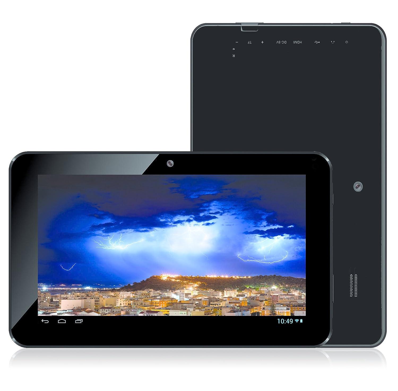 Storex eZeeTab 10Q11-M 8GB Black - Tablet (Tableta de tamaño completo, Android, Pizarra, Android, Negro, Despertador, calculadora, calendario, ...