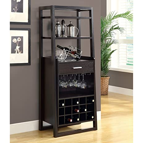Amazon.com: Monarch Specialties I 2543, Home Bar, Ladder Style ...