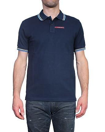 Prada Polo para Hombre Slim Fit SJJ887: Amazon.es: Ropa y accesorios