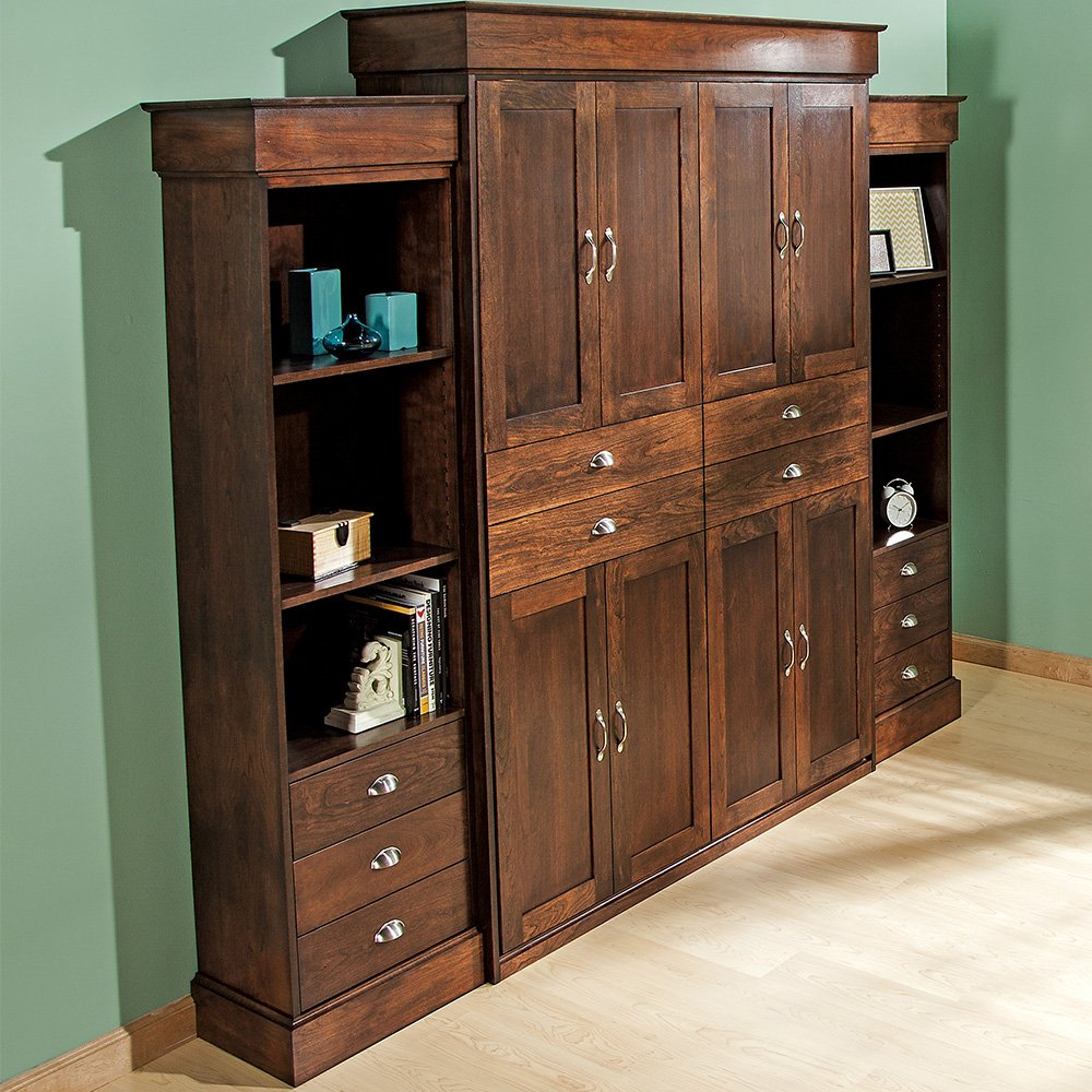 Amazon queen size deluxe murphy bed kit vertical kitchen amazon queen size deluxe murphy bed kit vertical kitchen dining amipublicfo Images