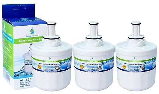 3x AH-S3F filtro de agua compatibles para Samsung nevera DA29 ...