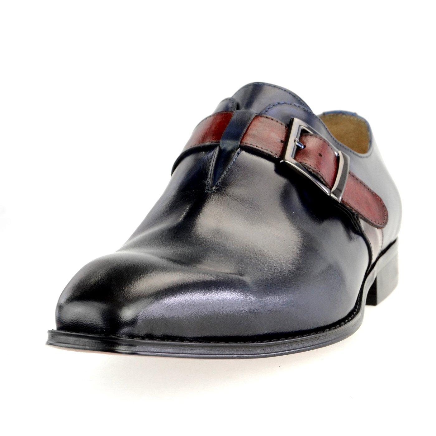 【在庫有】 [ルシウス] 本革 20種類から選ぶ ダブル レザー メンズ 26.5 ダブル モンクストラップ ネイビー メダリオン ストレートチップ 革靴 紳士靴 B076DTV3ZG 2015-24 ネイビー 26.5 cm 3E 26.5 cm 3E|2015-24 ネイビー, INDEEDバッグショップrustica:07885e79 --- ballyshannonshow.com