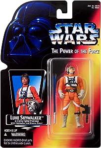 Hasbro Star Wars Power of The Force POTF2 Luke Skywalker Action Figure [X-Wing Pilot]