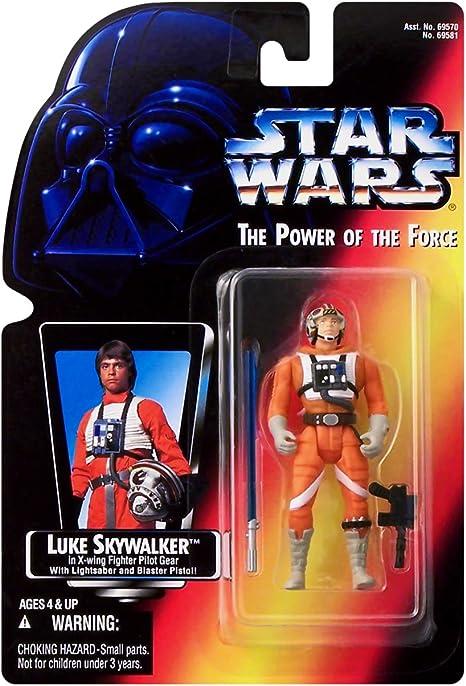 Star Wars Power of the Force Luke Skywalker in X-Wing Gear Action Figure