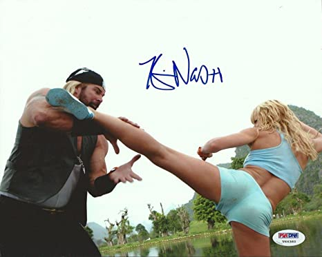 Kevin Nash Signed 8x10 Photo Coa Doa Dead Of Alive Jaime Pressly Picture Psa