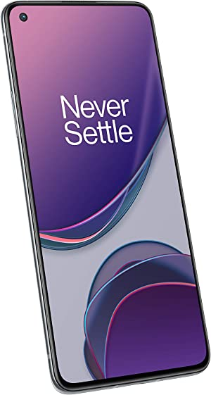 OnePlus 8T Lunar Silver, 5G Unlocked Android Smartphone U.S. Version, 256GB Storage + 12GB RAM, 120Hz Fluid Display, Quad Camera