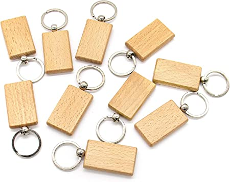 .. 4 20 6 7 9 3 10 8 Wooden Oval Shape Key Chain Wood Key Fob Hand Cut With Numbers From 1 to 20 Number 1 2 5