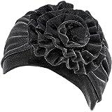 QingFan Muslim Stretch Turban Hat Chemo Cap Hair Loss Head Scarf Wrap Hijab Cap