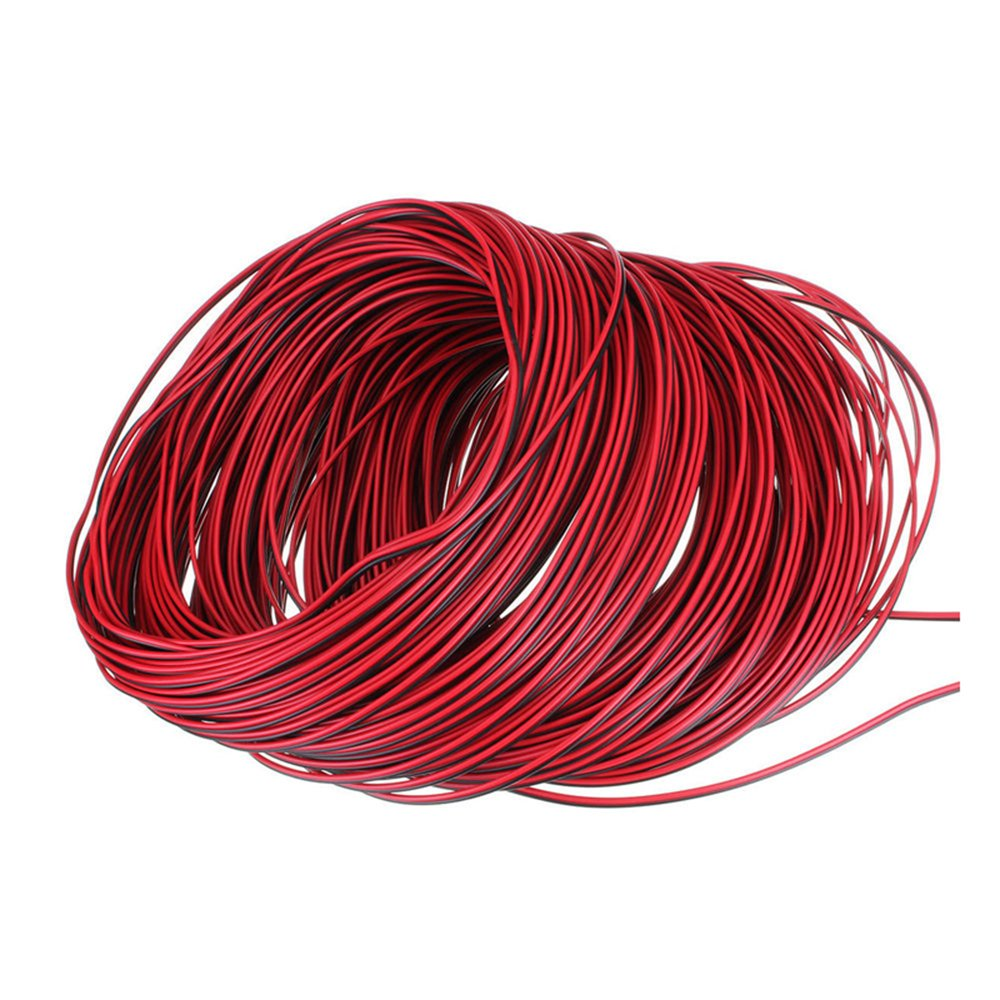 Rgbzone 10m 2pin Extension Cable Line Wire For Single Color Led Copper Pigtailing Aluminum Wiring Strip Lights