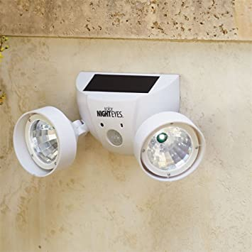 Amazon brylanehome solar night eyes security lights with alarm brylanehome solar night eyes security lights with alarm white0 aloadofball Gallery
