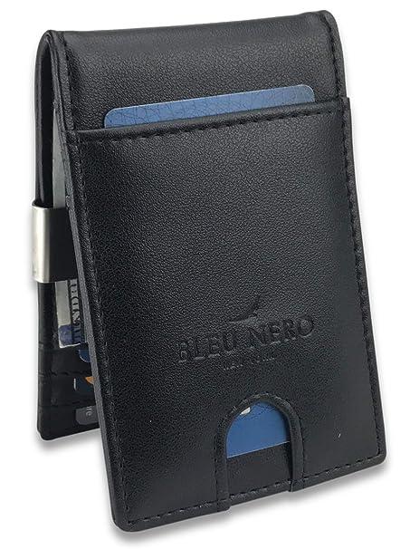 Amazon.com: Bleu Nero - Monedero con clip para hombre ...