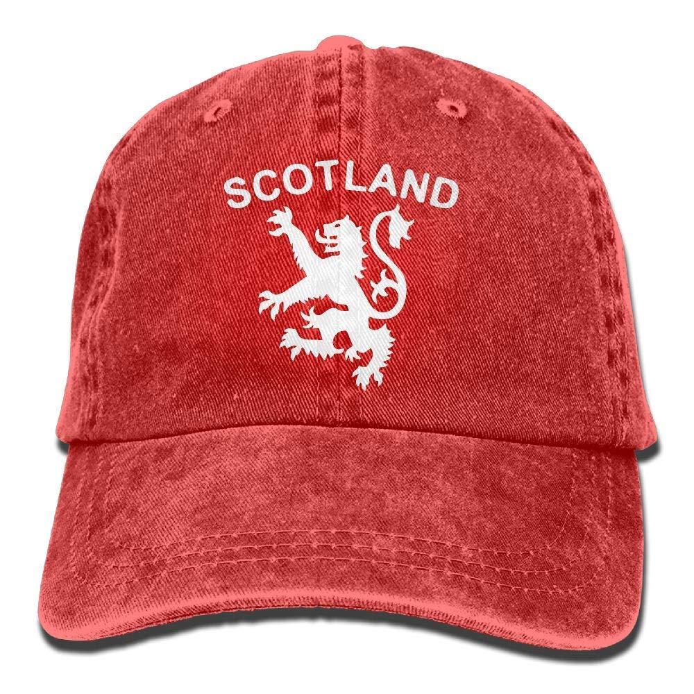 MDFY OEWGRF Men Women Lion Rampant Scotland Scottish1-1 Adjustable Jeans Baseball Cap Sun Hat