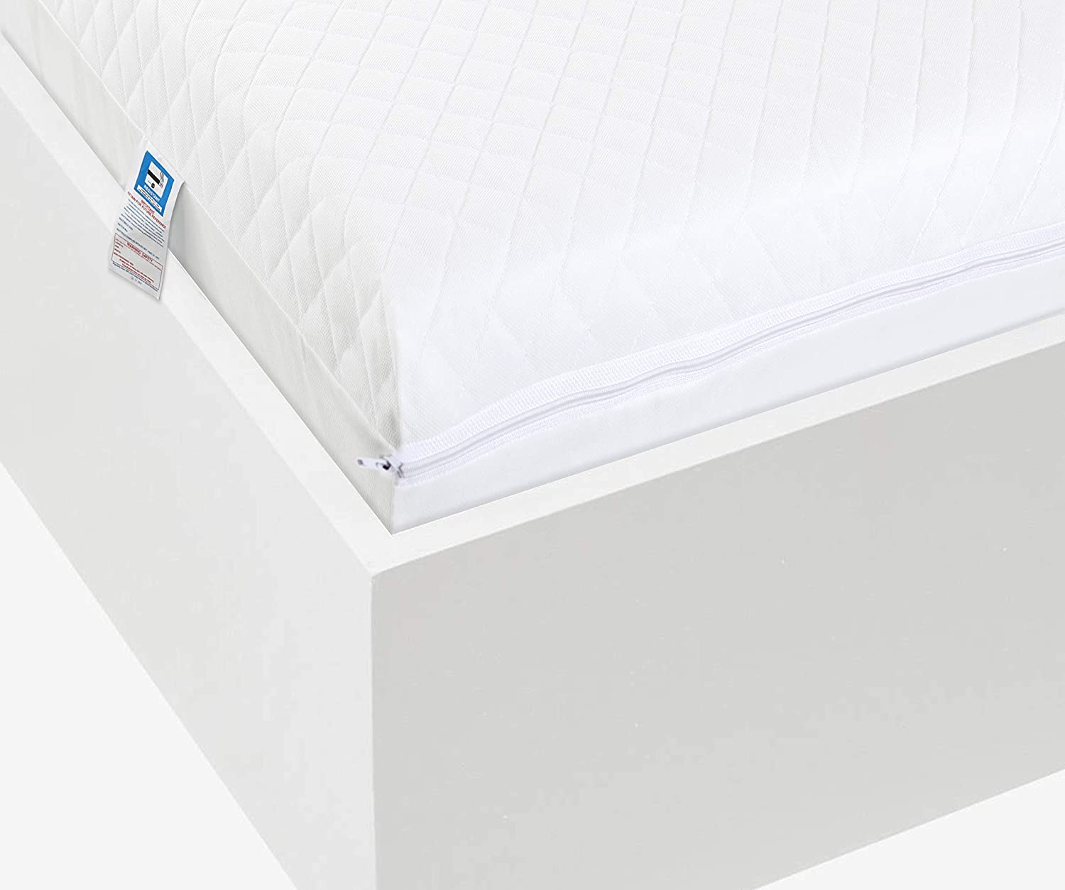 Lightweight Waterproof Eco Super Soft Quilt Easy Care Microfiber Baby Toddler Cot Bed Mattress Fits Mothercare and Mamas /& Papas Sizes Breathable Extra Thick 120 x 60 x 13 cm