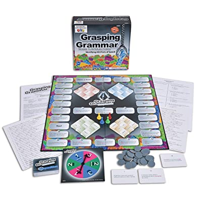 Learning Advantage, Grasping Grammar Board Game, Parts of Speech - Nouns to Interjections, Grade 4 and up: Toys & Games
