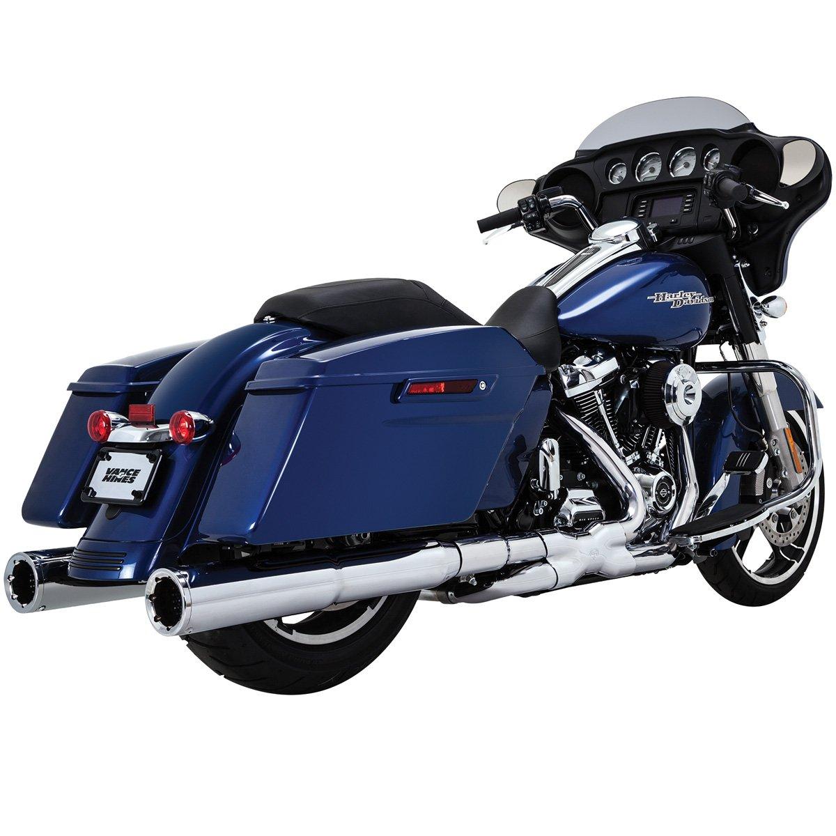 Vance & Hines 17-19 Harley FLHX2 Power Duals Headpipe System (Chrome)