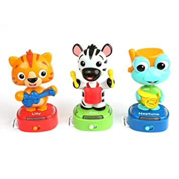 Amazon Com Baby Einstein Bobble Beats Musical Bobble Head Toy Ages 6 Months And Up Baby