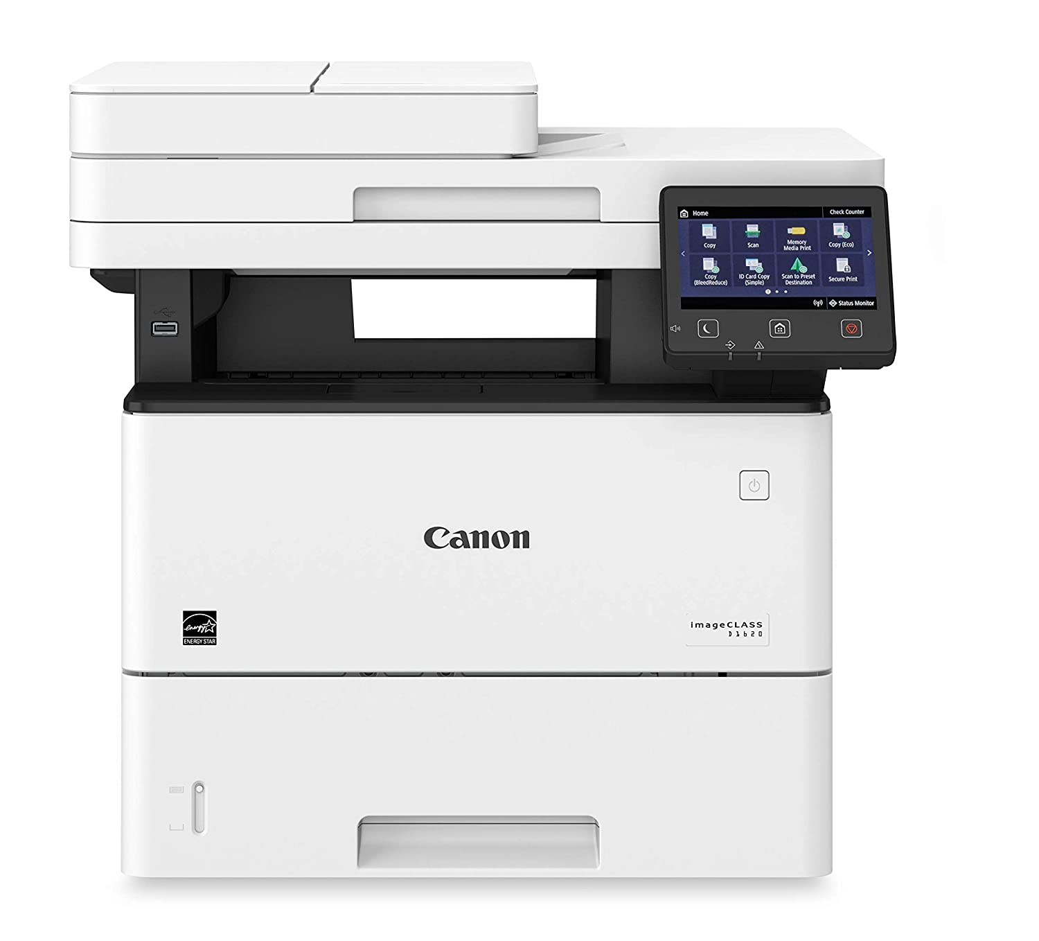 Canon imageCLASS D1620 (2223C024) Multifunction, Wireless Laser Printer with AirPrint, 45 Pages Per Minute and 3 Year Warranty