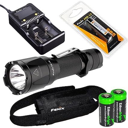 Amazon.com: EdisonBright Fenix TK16 - Linterna táctica LED ...