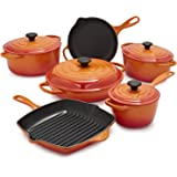 Le Creuset Signature Flame 10-Piece Set MS14SLT10-5H , 10-Piece