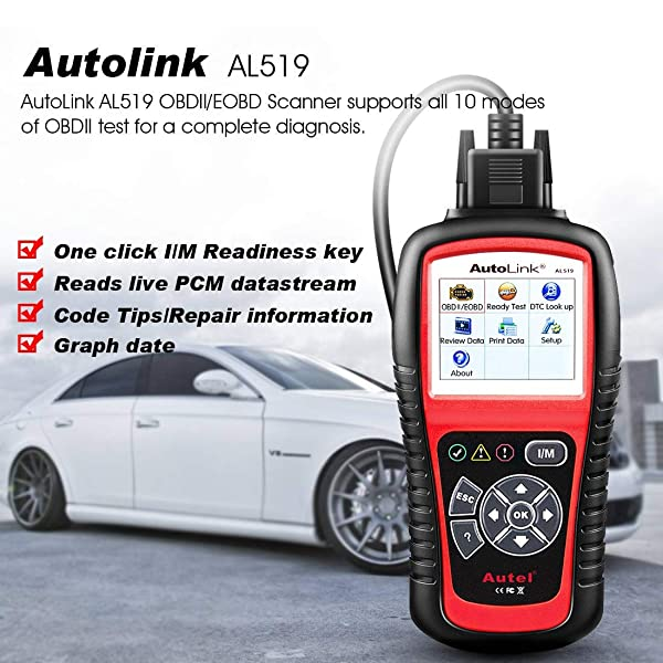 AL519 checks your emissions status with I/M readiness testing