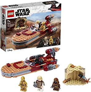LEGO Star Wars: A New Hope Luke Skywalker's Landspeeder 75271 Building Kit, Collectible Star Wars Set