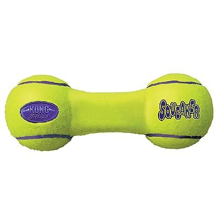 KONG - AirDog® Squeaker Dumbbell - Juguete sonoro y saltarín ...