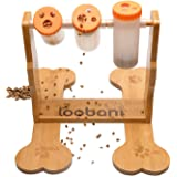 LOOBANI Dogs Food Puzzle Feeder Toys for IQ Training & Mental Enrichment, Interactive Funny Entertainment Pass Time Games for