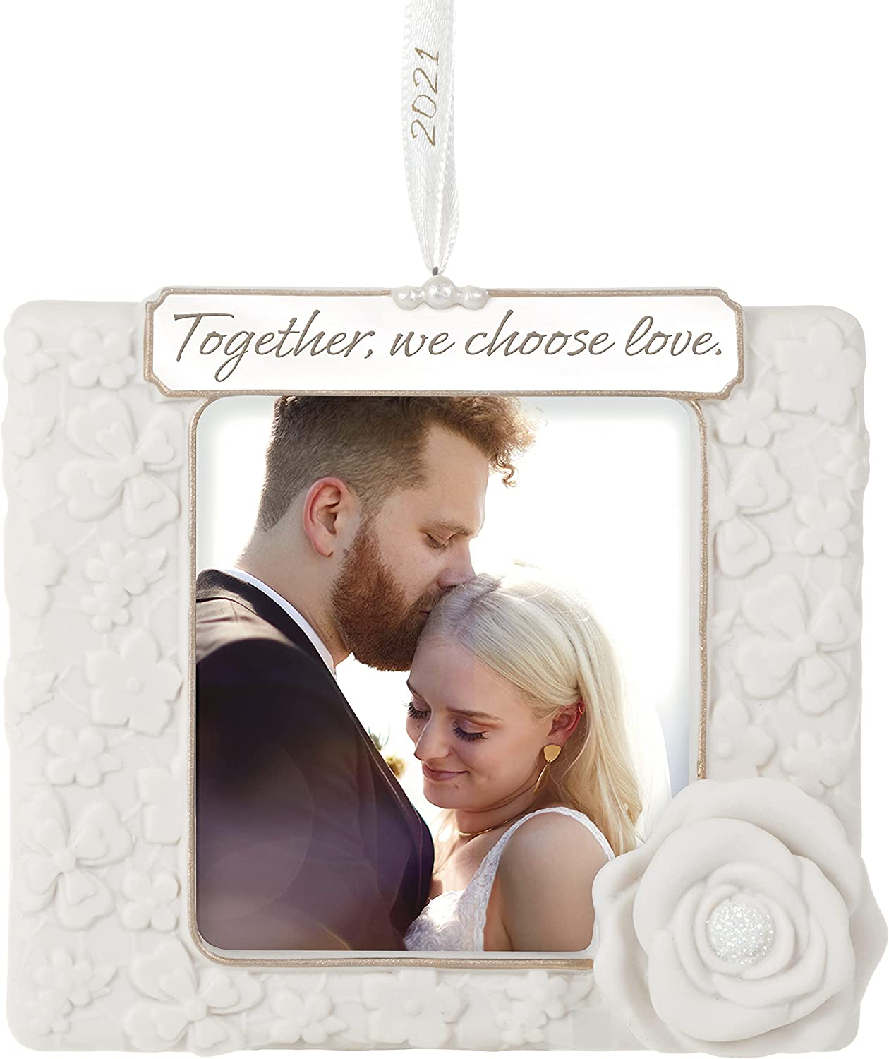 Keepsake Christmas Ornament Year Dated, Filled With Fun! Stocking 2021 Hallmark Keepsake Christmas Ornament 2021 Year Dated We Choose Love Photo Frame Porcelain Home Kitchen Amazon Com