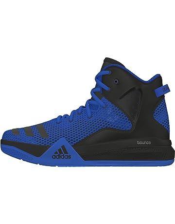 super popular f5db2 e904b adidas Boys   Dt Bball Mid J Basketball Shoes