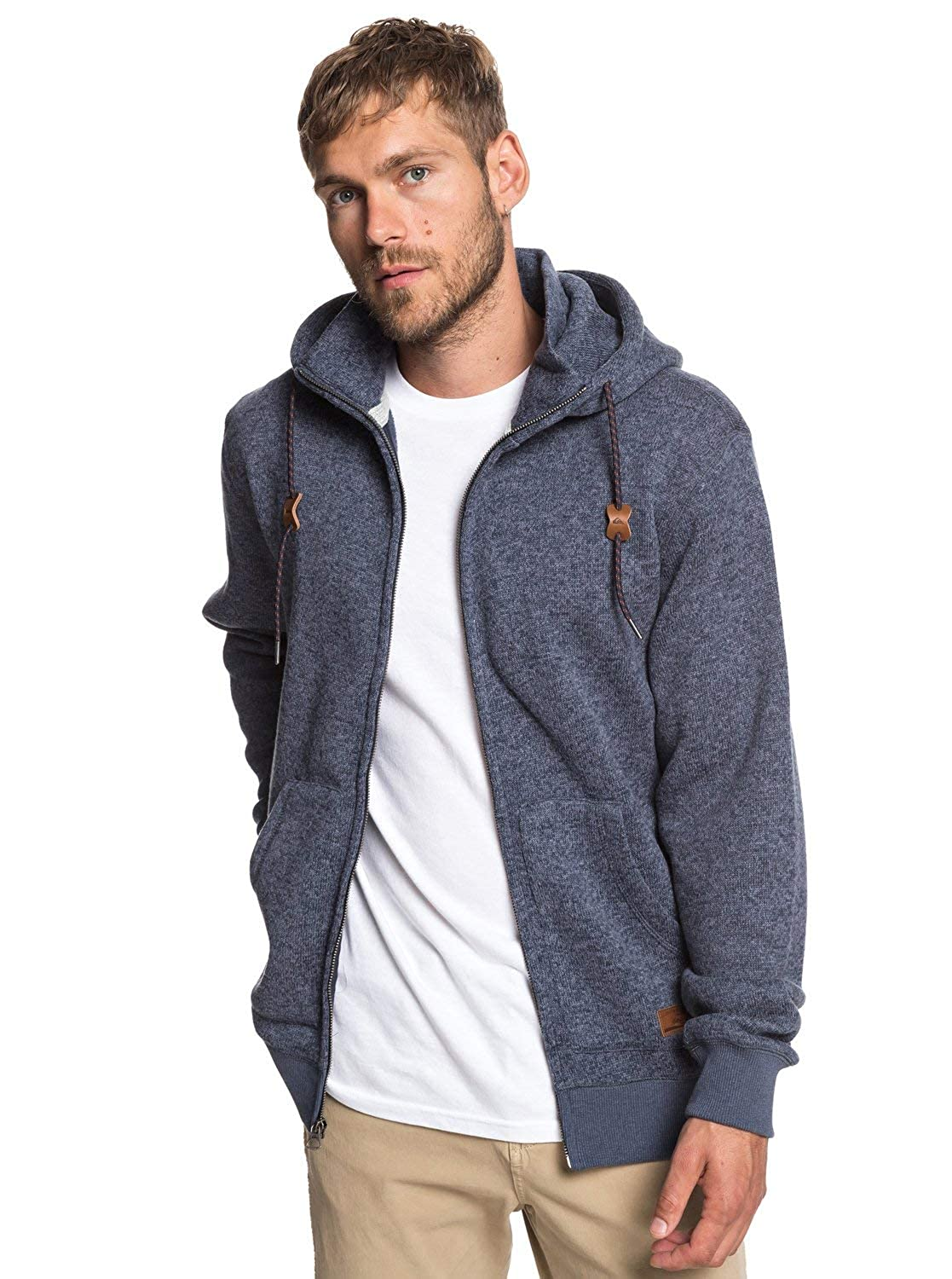 Quiksilver Mens Keller Zip Up Hoodie Jacket
