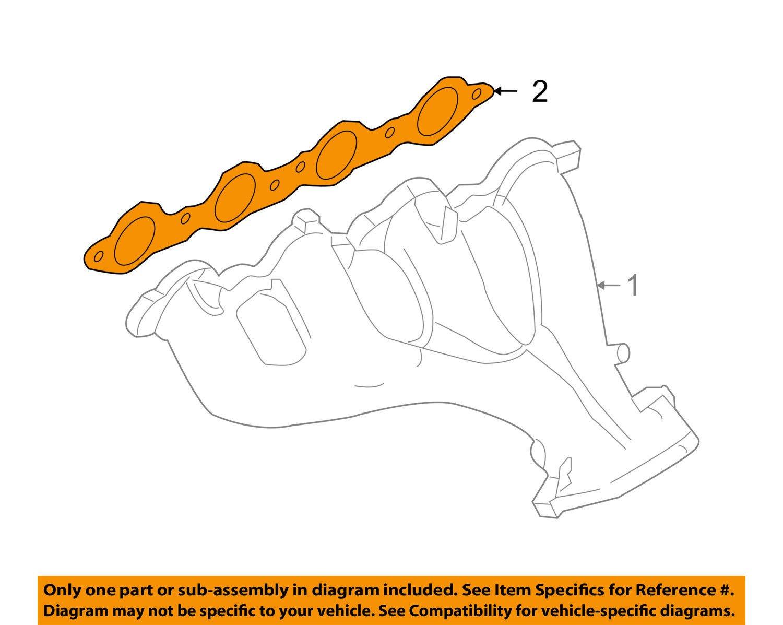Exhaust Manifold Gasket General Motors 12594171