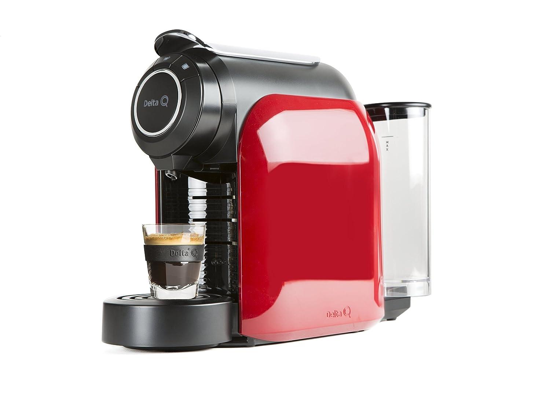 Delta Q 012872 Qool Evolution - Cafetera de cápsulas color rojo ...