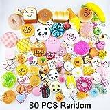 Amazon Price History for:Don't Eat!!! Mostsola 30Pcs Random Kawaii Mini Soft Squishy Foods Panda Bread Bun Toasts Multi Donuts Phone Straps Charm Kids Toy Gift