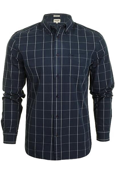 100% autentico e3925 2dbb8 Wrangler - Camicie Casual - Scacchi, Quadretti - Button Down ...