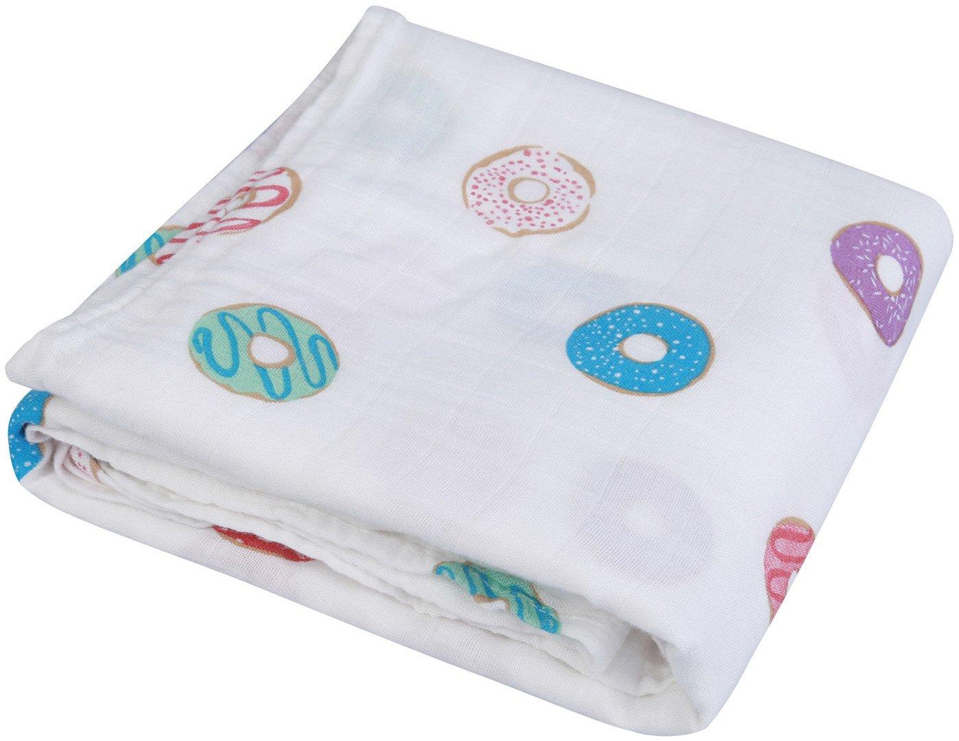 Little Jump Couverture d'emmaillotage pour Bébé | ' Design de Floral ' 120cm x 120cm Couverture Emmaillotage pour Bébé | Cadeau parfait pour bébé … (Floral) Shanglan B0785PZ2VY