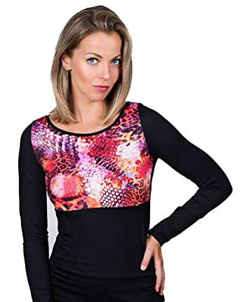 Camiseta Basica Chica Estampado M/L para Tenis Y Padel - S: Amazon ...