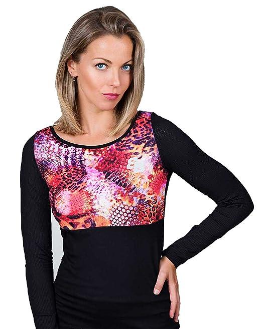 Camiseta Basica Chica Estampado M/L para Tenis Y Padel - S: Amazon.es: Ropa y accesorios